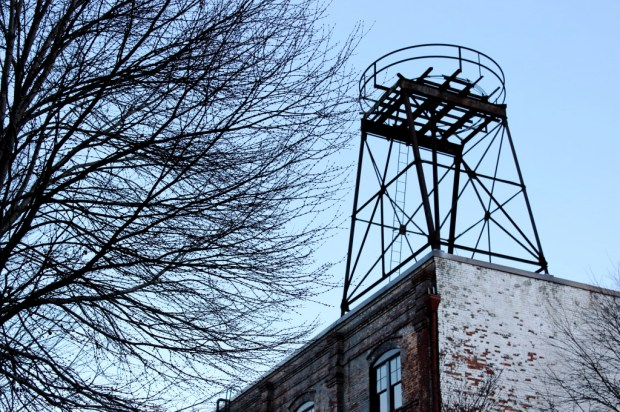 old water tower pearl