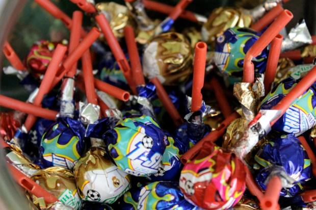 Candy Babel suckers