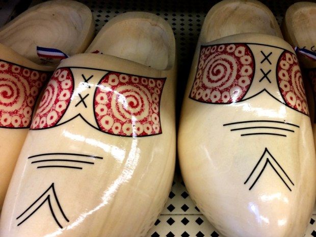 Dutch American Wooden Shoes