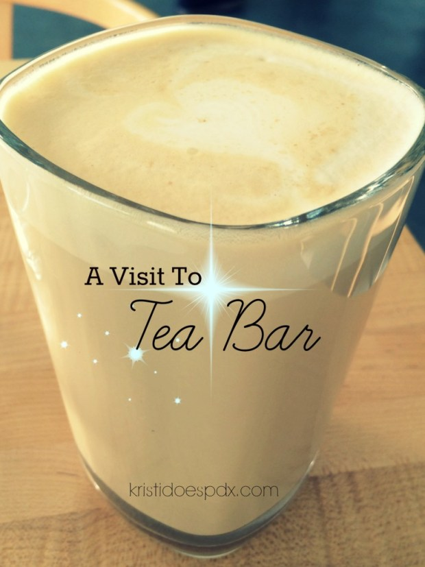A visit to Tea Bar in Portland, OR