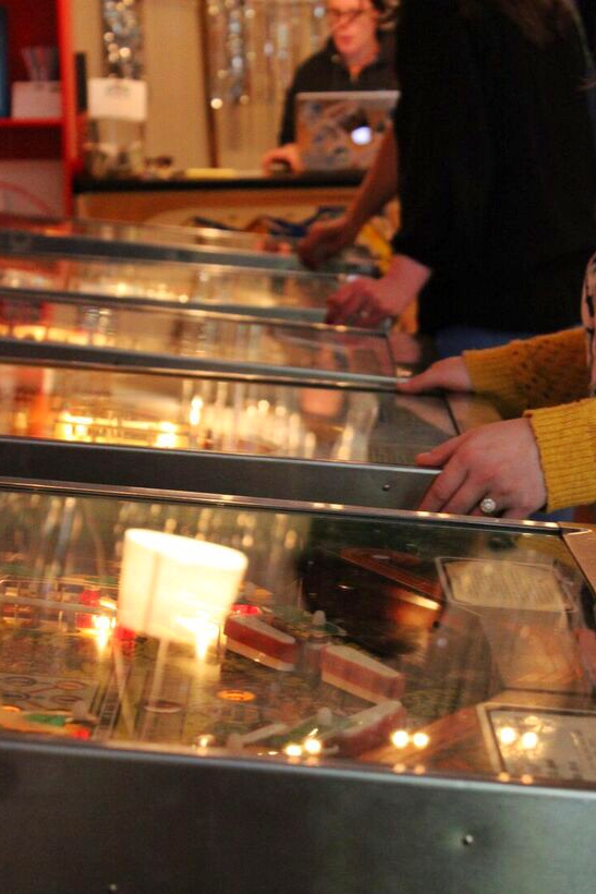 Pinball outreach players
