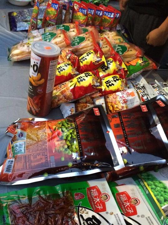 Jade market snacks