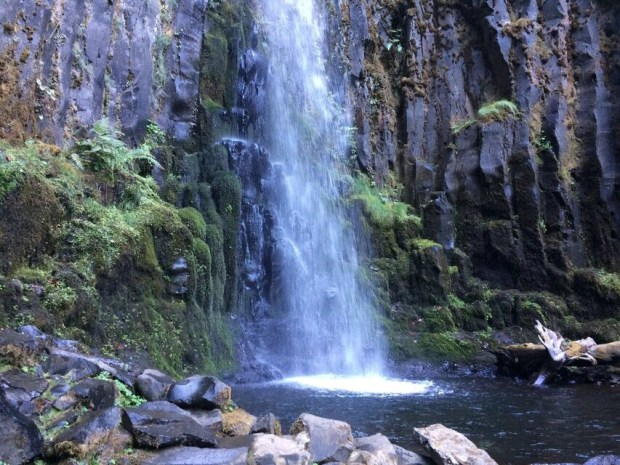 Dry Creek Falls Base