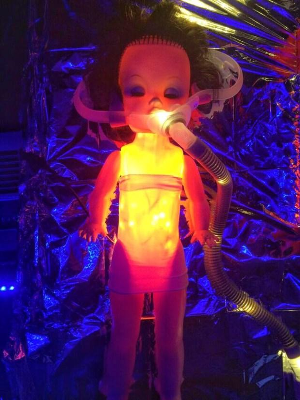 Doll asylum glowing doll
