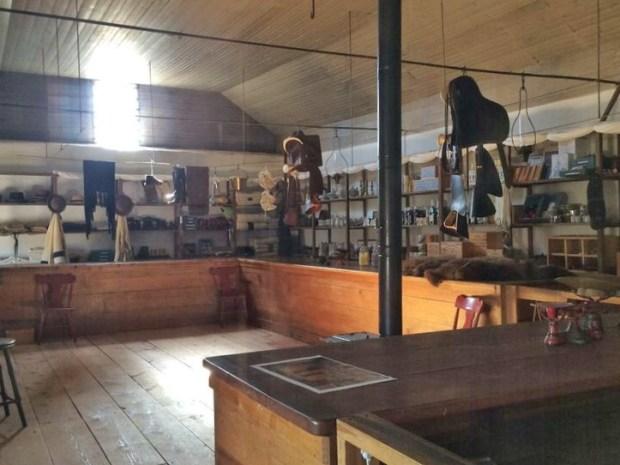 Fort Laramie general store