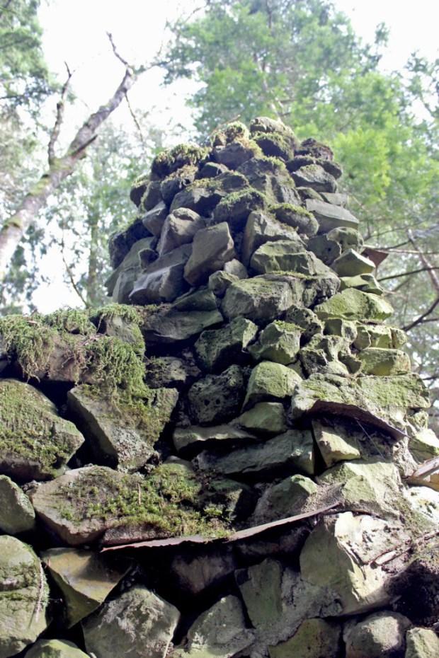 skamania stone house chimney