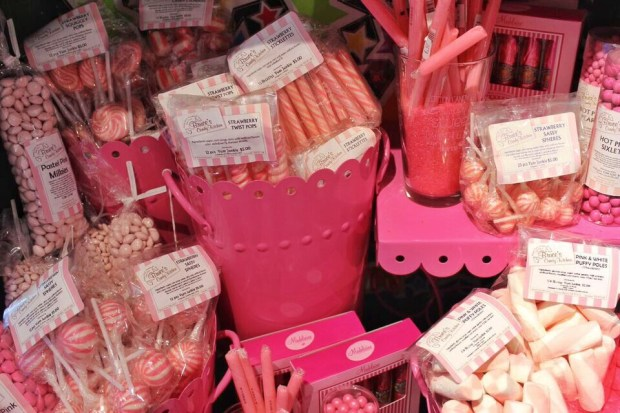 Bruce Candy Kitchen pink candy
