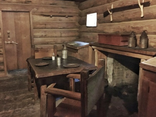 Fort Clatsup officers room