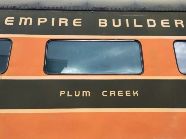Oregon rail heritage Empire builder