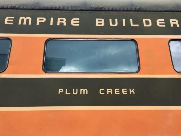 Oregon rail heritage Empire builder