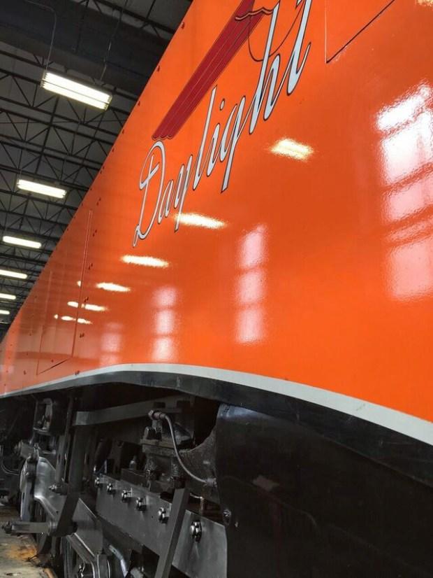 Oregon rail heritage daylight