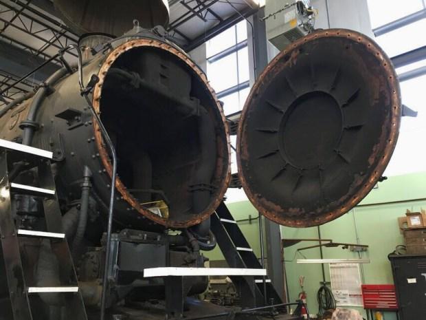 Organ rail heritage locomotive nose