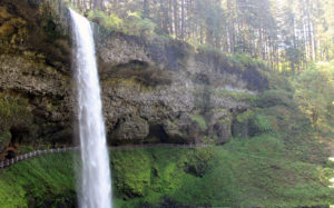 Silver Falls South Falls