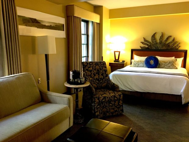 Heathman Hotel Bedroom