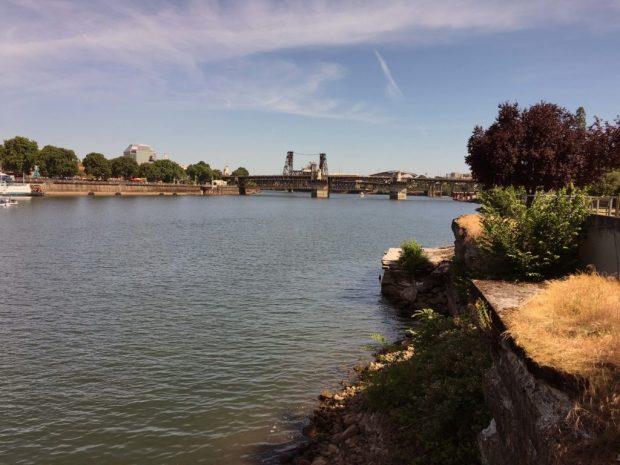 Waterfront Loop eastside river view