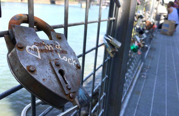 Waterfront Loop locks