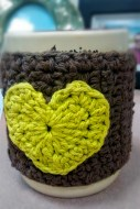 Crochet tea cup cozy - Front