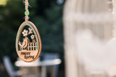 Happy spring - easter decoration