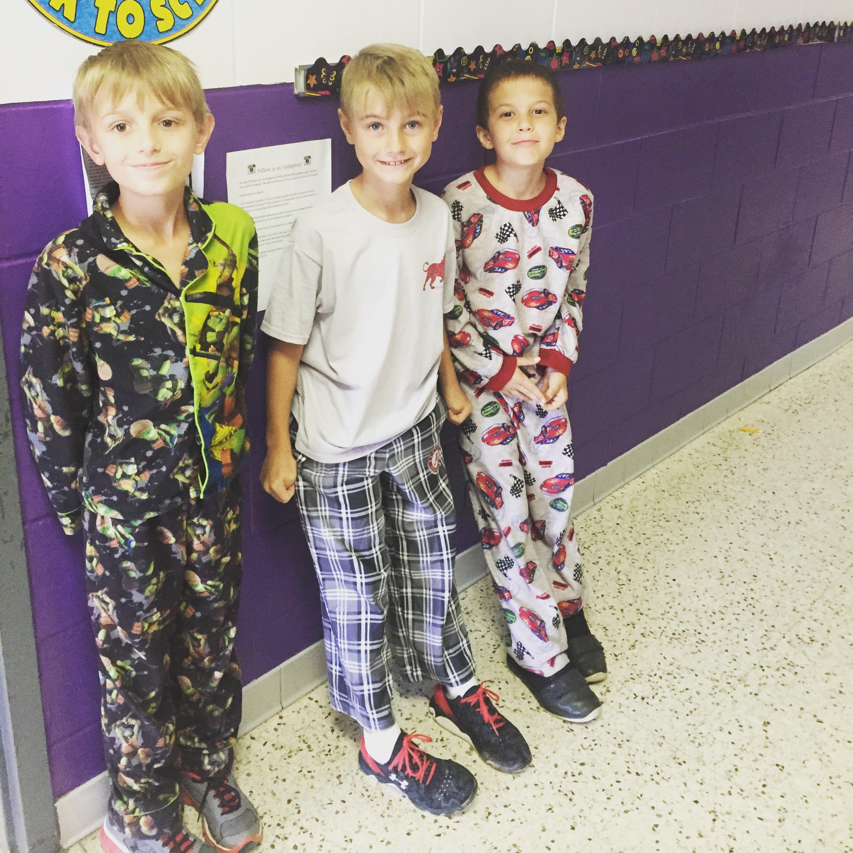 Pajama Day 9 16 15