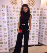 Presenter Kristina Guberman attends national film awards in London