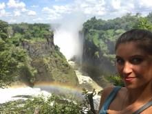 Kristina Guberman Vic Falls Zimbabwe