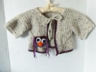 Babay owl sweater
