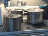 Process 5 minutes, wait 15 to remove jars.