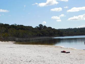 Brown Lake - North Stradbroke Island, Queensland