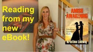 Click the picture to watch the YouTube video of me reading an excerpt of Amish Awakening!