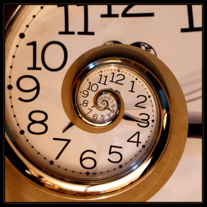 Even if your clock is this cool-looking, it's still reminding you of the dreaded deadline. :)