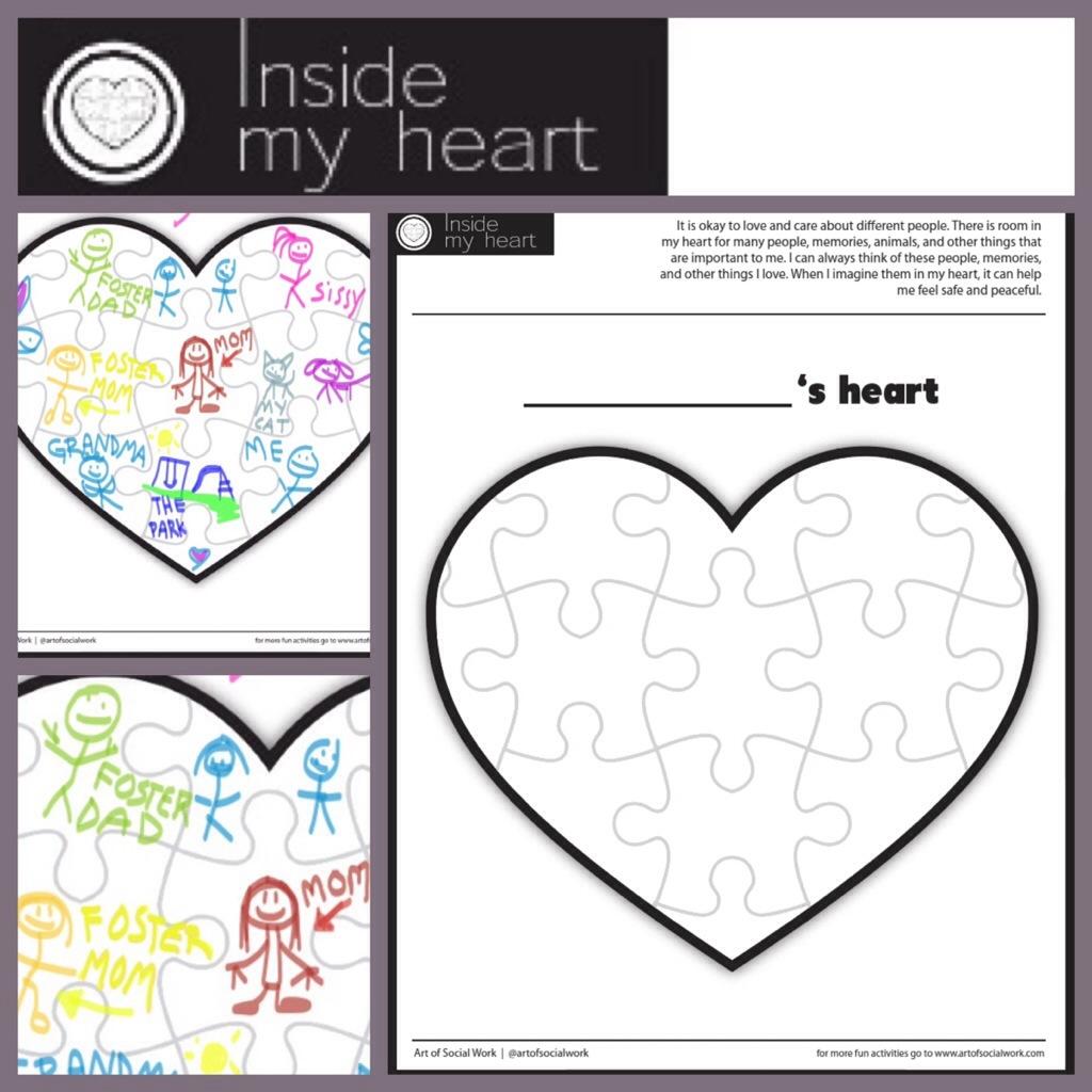 In My Heart Art Of Social Work