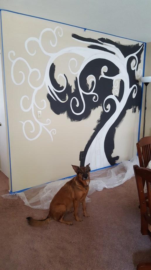 fam tree mural 2