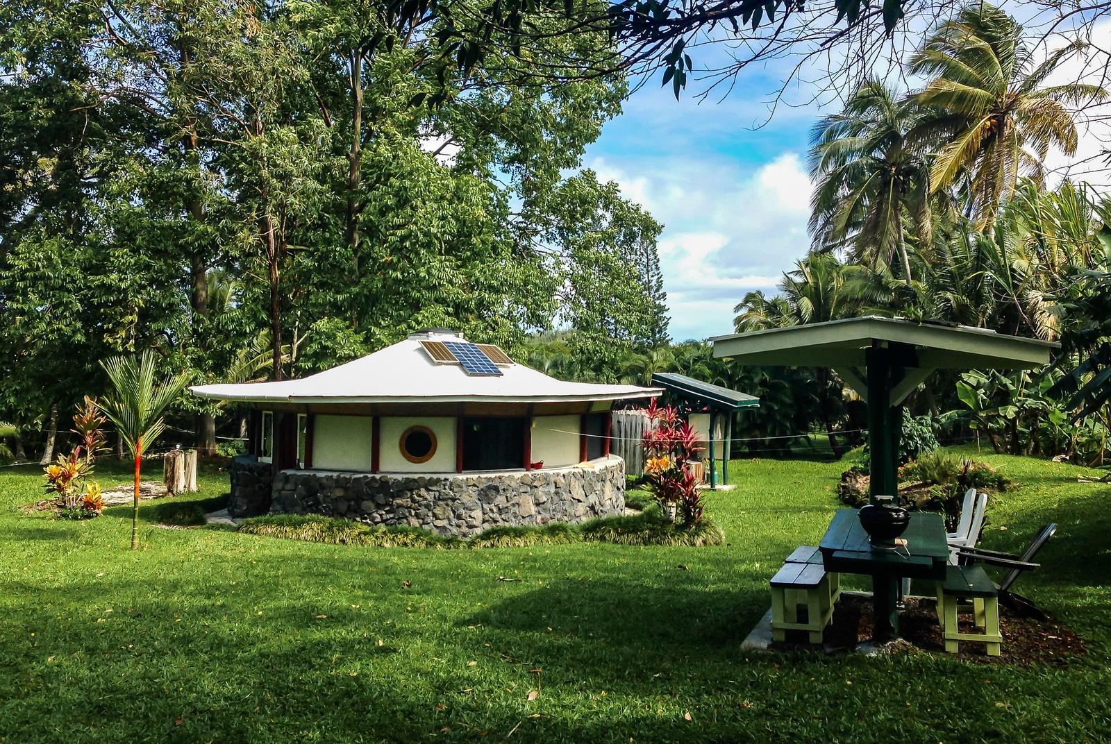 3 week Hawaii itinerary. Lava Rock House, The Big Island