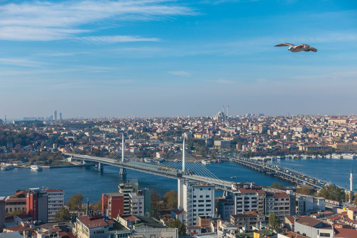 View from the Galata Tower - Istanbul