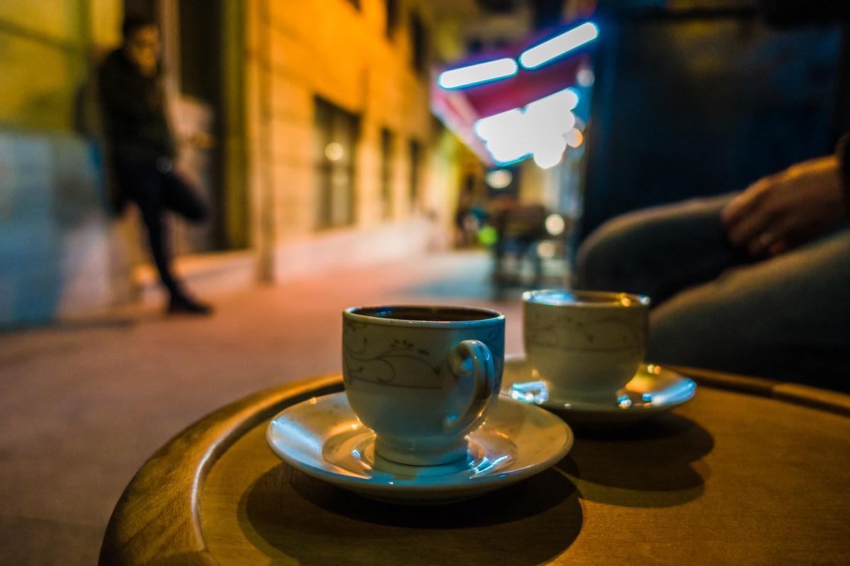 Mandabatmaz coffee shop - Istanbul