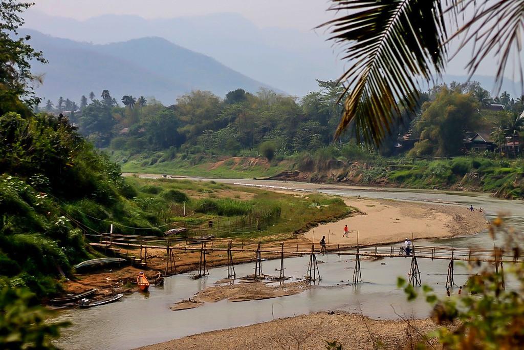 Things to Do in Luang Parabang. Bamboo bridges