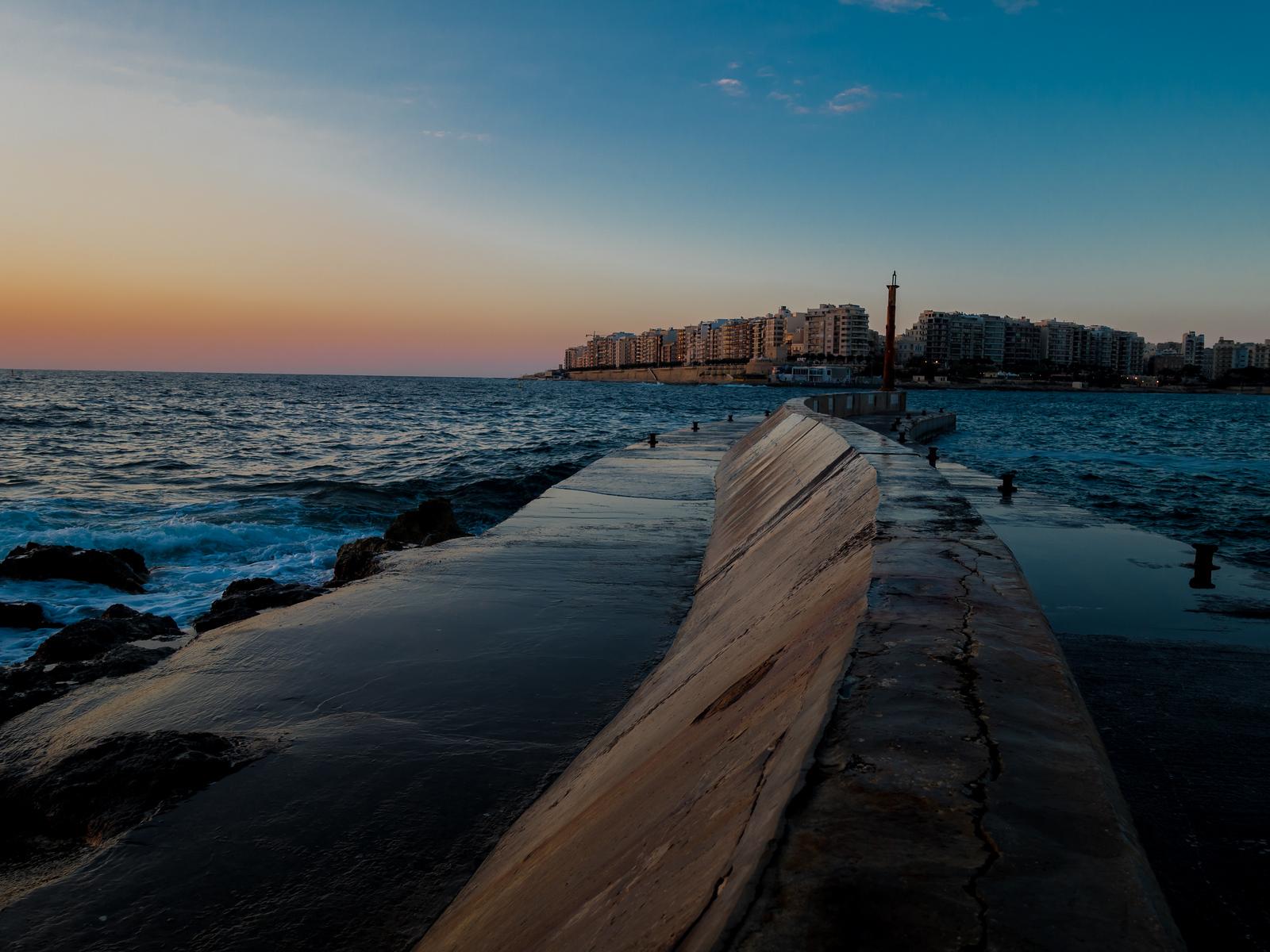 Malta Pictures - sunrise in St Julians