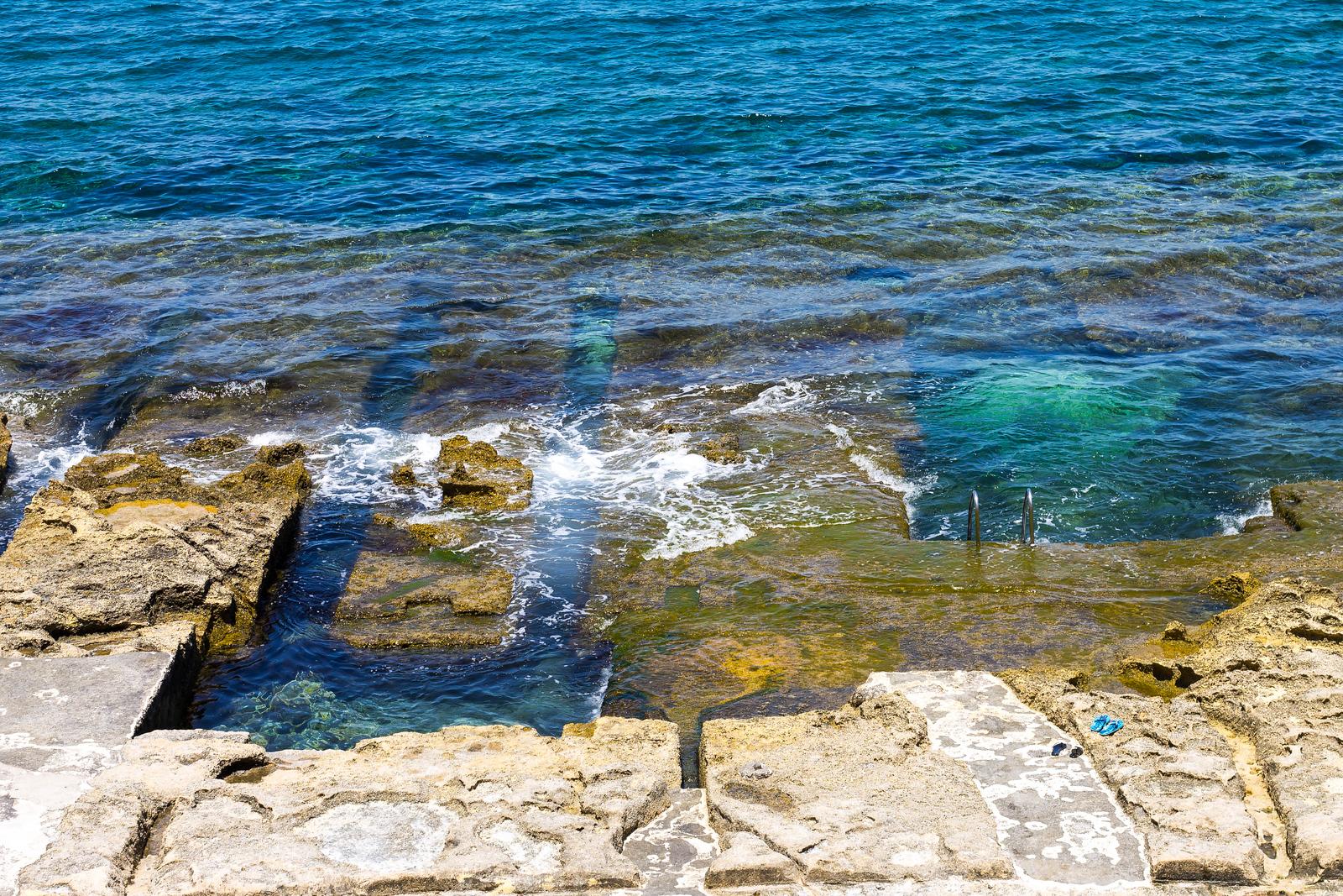 Malta Pictures - Sliema Pools