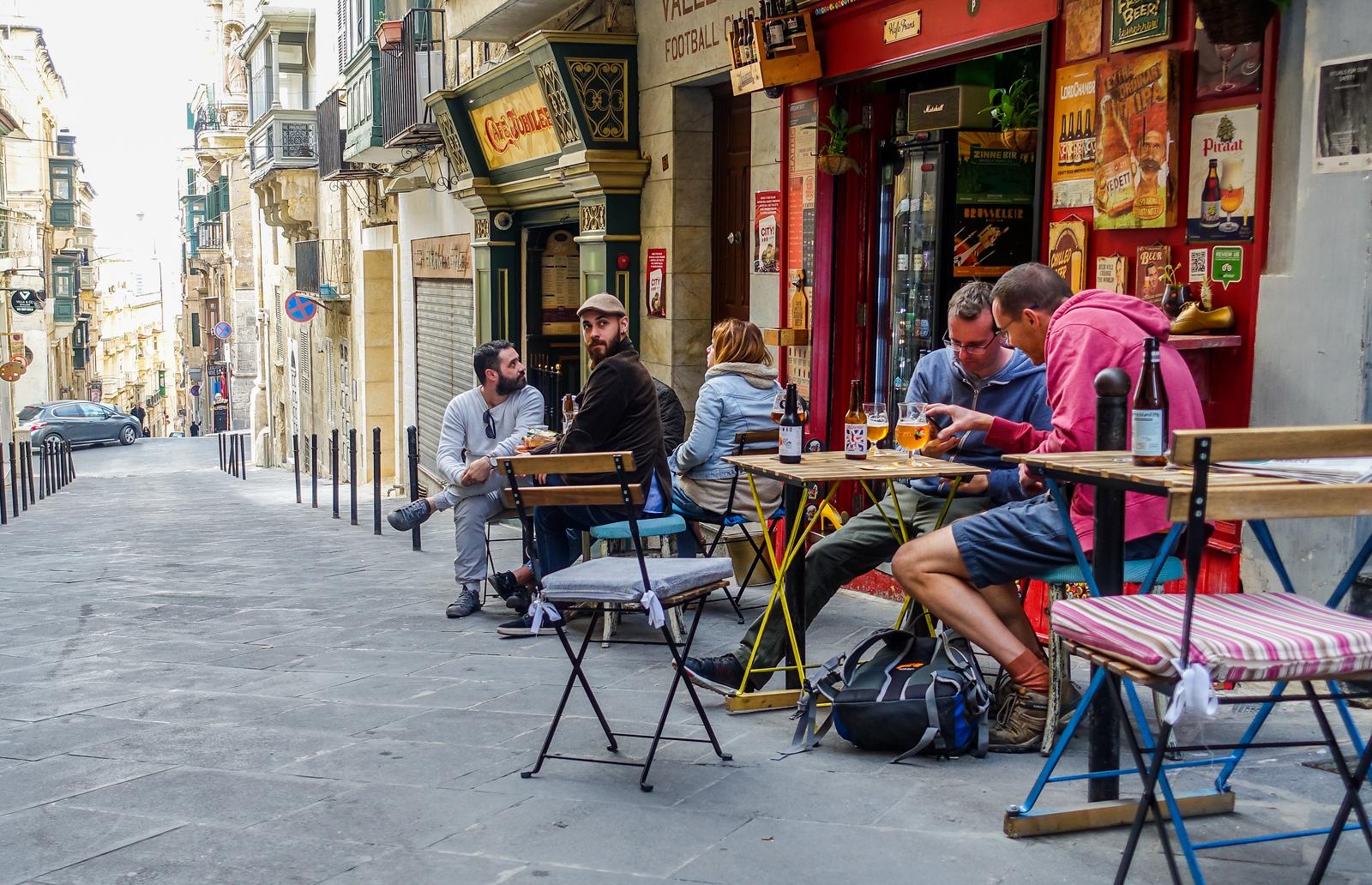 Malta Itinerary. Where to drink in Malta