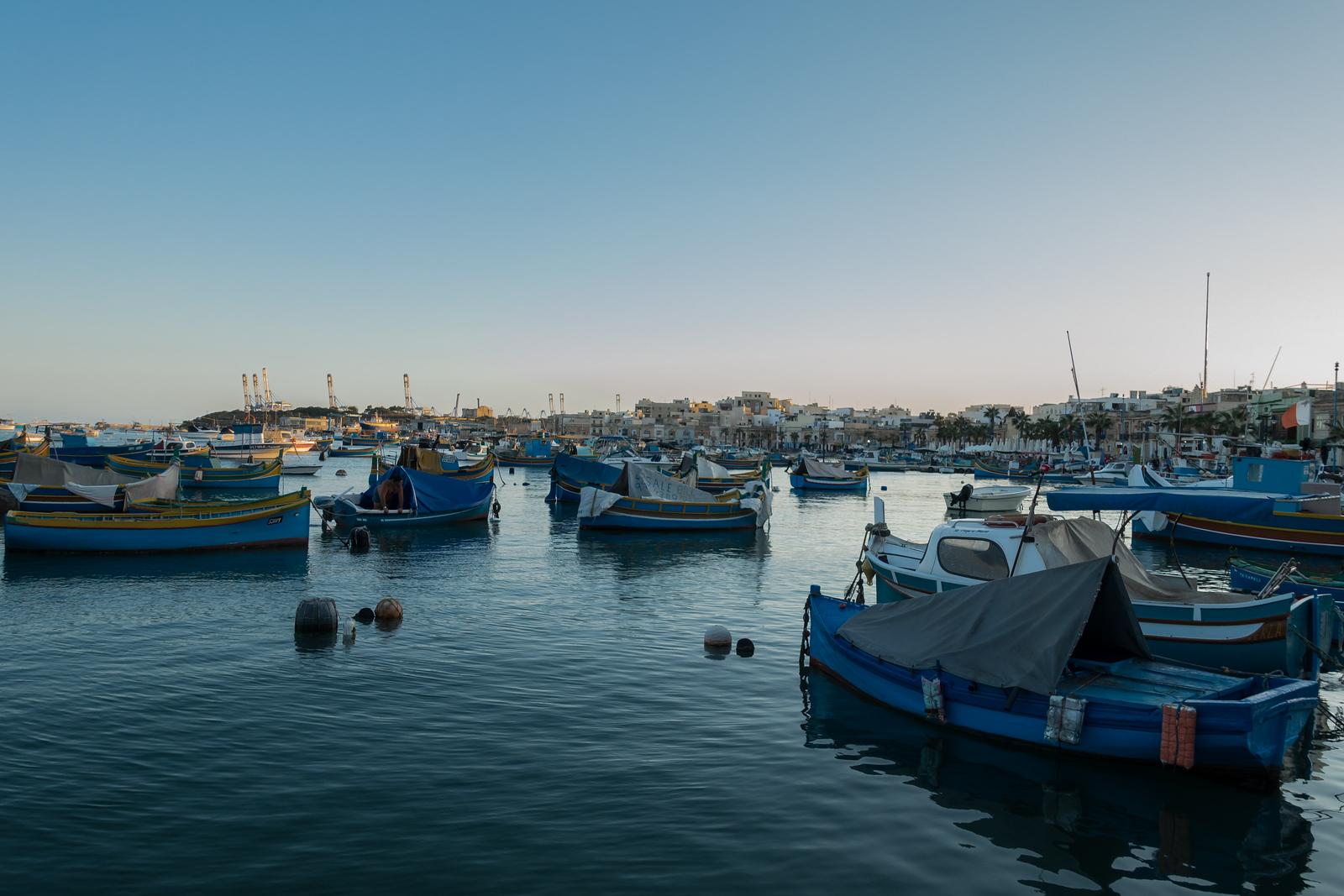 Malta Pictures - Marsaxlokk