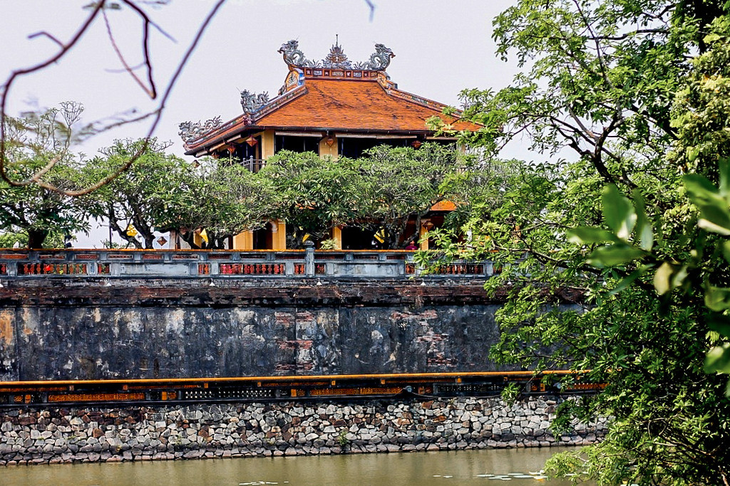 Forbidden Purple City, Hue, Vietnam