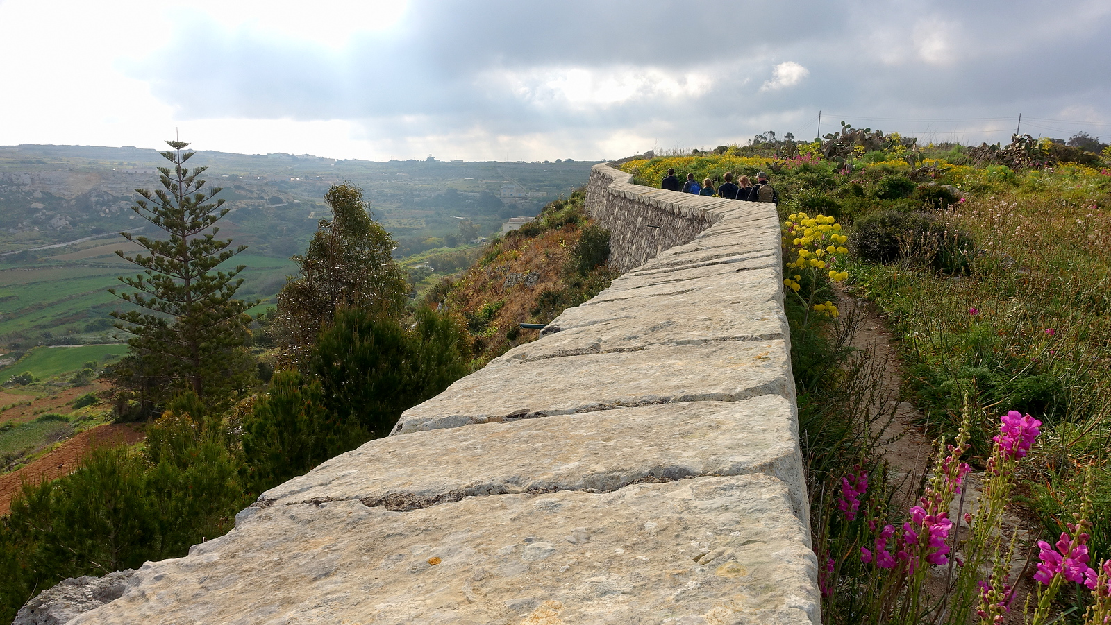 Victoria Lines Trek in Malta. Vitoria Lines Route