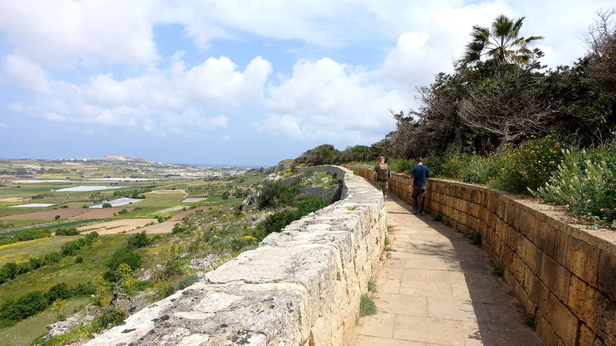 Victoria Lines Trek in Malta