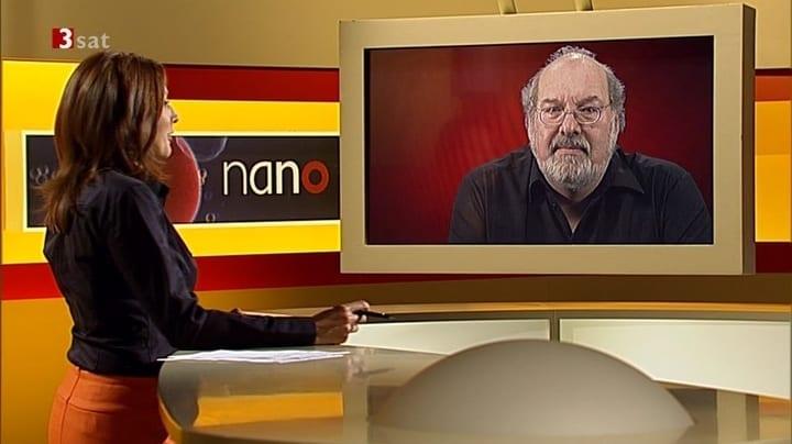 Wissenschaftsmoderatorin Kristina zur Mühlen im Interview mit Udo Pollmer