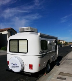 Casita travel trailer - 2015 Spirit Deluxe.