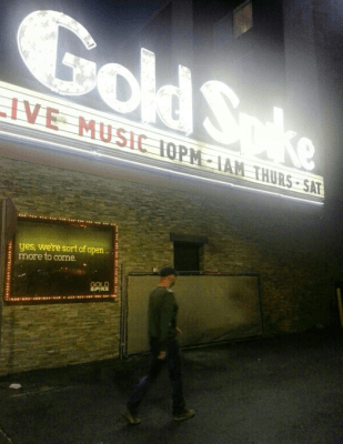 Gold Spike DTLV