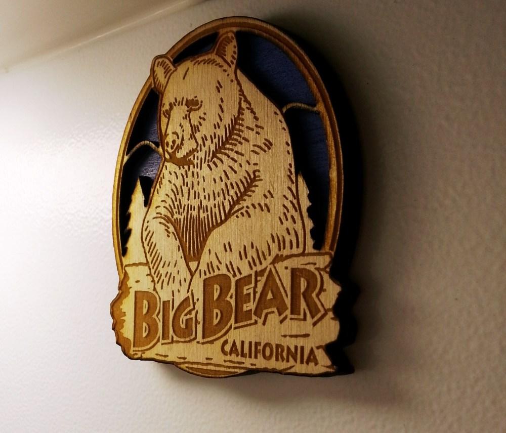 Travel Trailer Camping at Serrano Campground, Big Bear Lake, California (2/6)