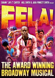 "While with Izquierdo Studio, I was part of the team that constructed costumes for ""Fela!"". We first created costumes for the off Broadway installment, and then when it was picked up for Broadway, we also constructed the additional costumes needed."