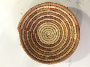 handwoven basket - natural 1