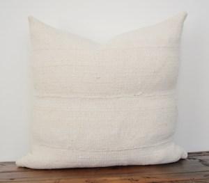 classic vintage white mudcloth